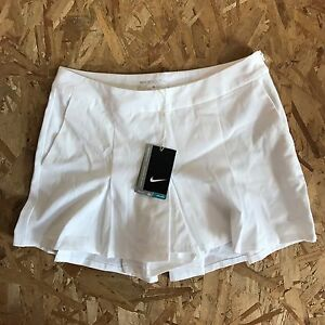 NIKE MAJORS MOMENT 2.0 WHITE GOLF SHORTS WOMENS SIZE 4 NEW WITH TAG
