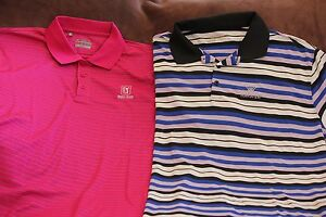 Men's Golf Polos Under Armour and Nike size XXL lot of 2