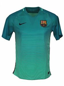 Nike FC Barcelona Dri Fit Home Stadium Soccer Jersey Mens T-Shirt Fifa Medium