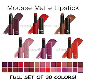 Italia Matte Lipstick Set- All 24 Colors Long Lasting Matte Lipsticks *US Seller