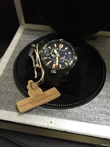 Graham Chrono Fighter Oversize Diver Deep Seal Watch Timepiece - chronofighter