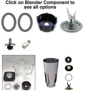 Replacement Compatible Oster Blenders,Gasket,Blade,Base,Plastic