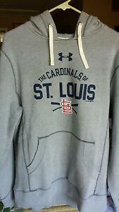 NWT Under Armour Mens ST LOUIS CARDINALS XL Performance Hoodie MLB $80