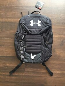 NWT Under Armour Storm Undeniable II Backpack 1263963 Water Resistant Black