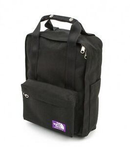 THE NORTH FACE PURPLE LABEL 2Way Day Pack BLACK NN7602N Backpack Japan FS