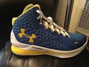 Curry 1 one Under Armour UA size sz 12 Golden State Warriors Steph GSW