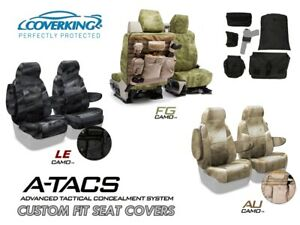A-TACS Camo Tactical Cordura Ballistic Front Seat Covers for Ram Truck
