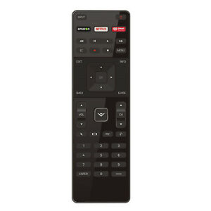 US New Vizio XRT122 LED HDTV TV Remote Control with AmazonNetflixIHeart Key