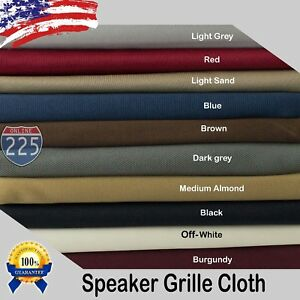 All Colors Stereo Speaker Grill Cloth Fabric 36
