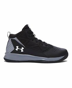 Under Armour Boy's Under Armour Boys' Jet Mid Basketball Shoes - Grade School 3