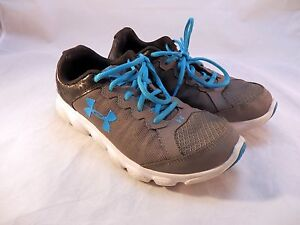 Boys Under Armour Running Shoes Size 6Y Free Shipping!