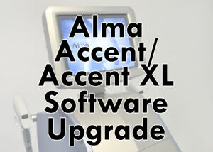 Alma Accent  Accent XL Software Upgrade Laser System IPL Reset Reload Repair
