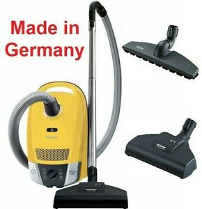 Miele Compact C2 Lightweight Canister Vacuum Cleaner Quiet Powerline+Turbo Brush
