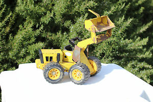 Vintage 1960's Pressed Steel Tonka Articulate Front Loader Construction Vehicle