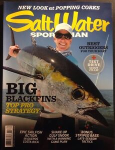 Salt Water Sportsman Best Outriggers Top Pro Strategy Nov 2014 FREE SHIPPING