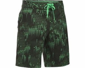 NWT Under Armour UA ArmourVent Surf Shorts Mens Short L Large 34 Boardshort FC37