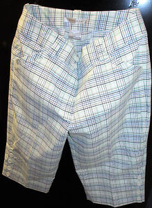 NEW NIKE Dry Fit Womens Golf Shorts Size 16 335853-100-6