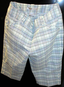 NEW NIKE Dry Fit Womens Golf Shorts Size 8 335853-100-8