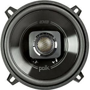 Polk Audio 300W 2 Way Marine Stereo Pair Speakers for Car ATV Motorcycle Boat