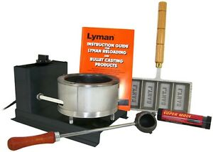Lyman Big Dipper Starter Casting Kit with Ingot Mould Cast Bullet Melting Guide