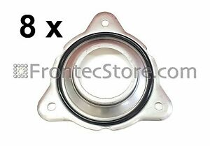 8 x Replaces IPSO Seal Plates 1190000100 With O-Rings Model 2170000200