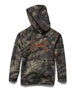 Under Armour Big Boys' Armour Fleece Camo Hoodie XL 68035