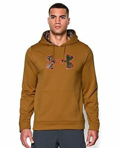 NWT Under Armour Mens Storm Caliber Logo Hoodie MoccasinRealtree Size XL
