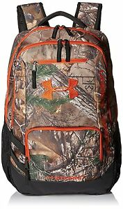 Under Armour Camo Hustle Backpack Realtree Ap-XtraDynamite One Size
