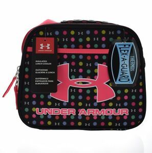Under Armour Girls' Polka-Dot Lunch Box BlackMulti