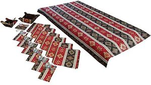 TABLECLOTH SET NAPKINS COVERS FOR THE KITCHEN APPLIANCES BREADBASKET CANDY BOX