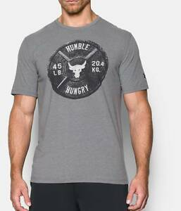Under Armour Mens UA x Project Rock Humble Hungry T-Shirt
