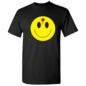 Smile Face Bullet Sarcastic Graphic Gift Idea Cool Adult Emoticon Emoji Shirts