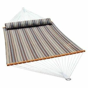 Hammock Double Tree Outdoor Swing Bed Hanging Chair Patio Portable Camping Cot