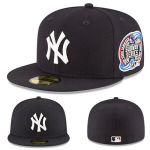 New Era New York Yankees Fitted Hat 2000 Subway series Official Grey Under Brim