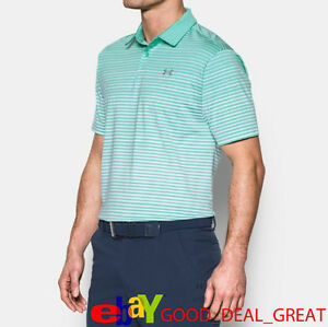 2017 Under Armour *UA Trajectory* Golf Polo Shirt 1290148-343 $80   Pick Size