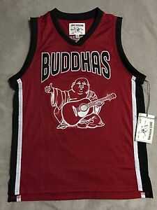 True Religion Men's Logo Jersey Red Tank Shirt 3X-Large Golds Gym Basketball