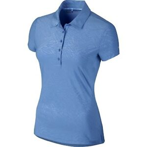 Nike Golf Women's Dri Fit Precision Emboss Polo Shirt No. 725627
