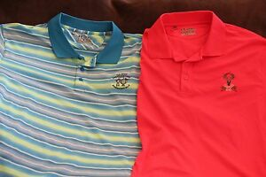 Men's Under Armour Heat Gear Golf Polos Size 2XL XXL Lot of 2 shirts beautiful
