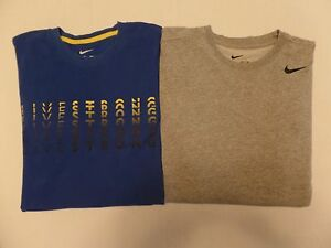 #1485-12 Nike Dri-Fit Lot of 2 Graphic T Shirts Small