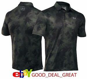 2017 Under Armour *Wounded Warrior Camo* Golf Shirt  Special Edition