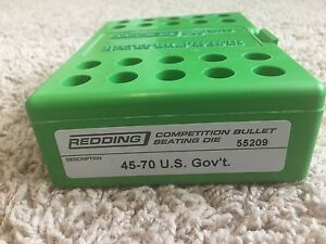 Redding Competition Seater Die 45-70 Government 55209