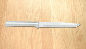 Rada R104 Utility/Steak Knife Non-serrated kitchen Made in USA, L/R handed sharp