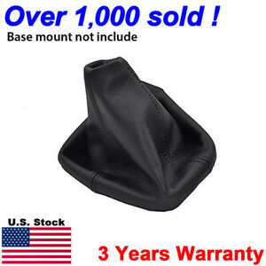 Fits 2005 2011 Hummer H3 Automatic Leather Shifter Shift Boot Cover Black $19.99