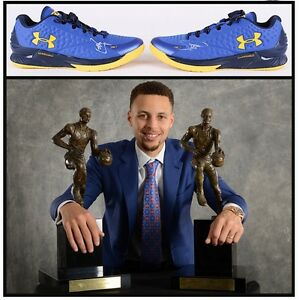 Steph Curry Signed Under Armour