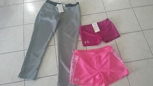 NWT LOT Girls size XL Extra large NWT Under Armour pants shorts leggings