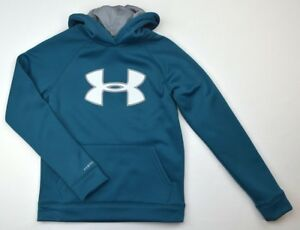 Under Armour 1706 Gym Boys Storm Armour Fleece Big Logo Sweatshirt Legion Blue