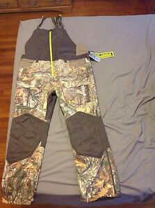 Under Armour Scent Control Cold Gear Infrared Camo Overalls Bibs