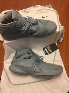 lebron soldier 9 Size 14 With a Nike Dry Fit Shirt