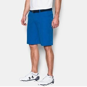 2016 Under Armour *UA Match Play* Vented Golf Shorts 1272358-789 $85 Size 36