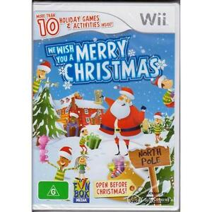 NINTENDO WII WE WISH YOU A MERRY CHRISTMAS PAL [NSE] AUSTRALIAN RELEASE GAMESPAL